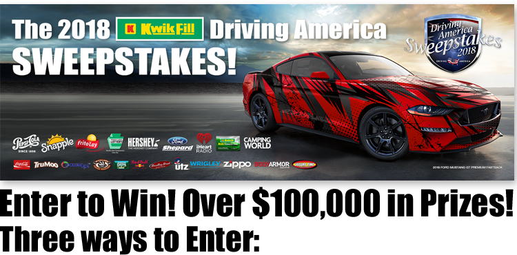 Kwik Fill Driving America Sweepstakes
