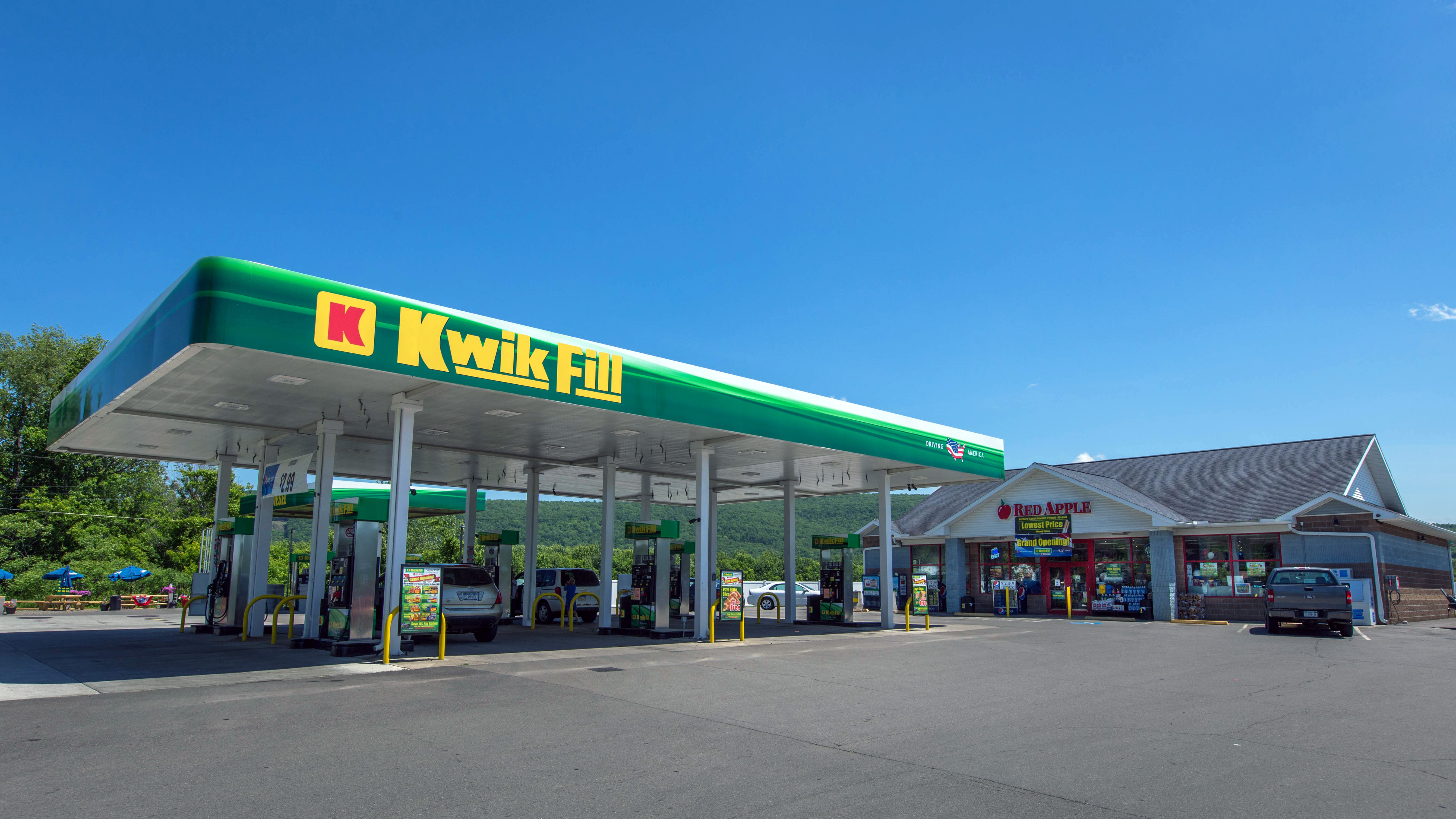 Navigate To The Closest Gas Station >> History Of Kwik Fill