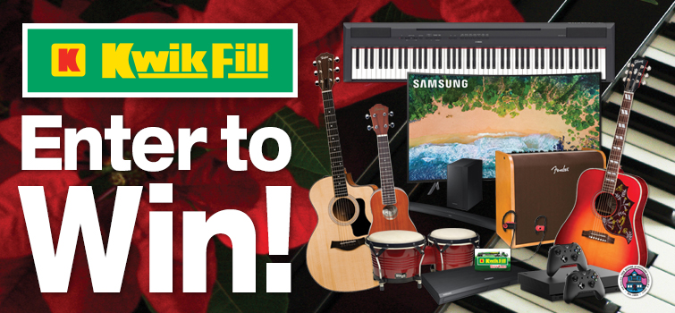 our giveaway for kwikfill - Are Gas Stations Open On Christmas