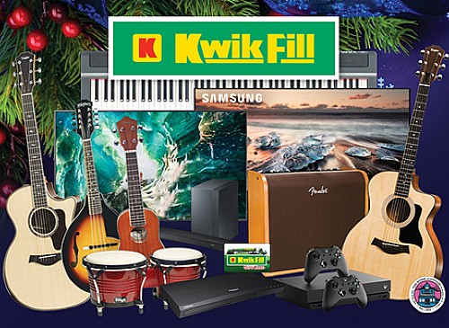 2019 Kwik Fill Sounds of Christmas Giveaway
