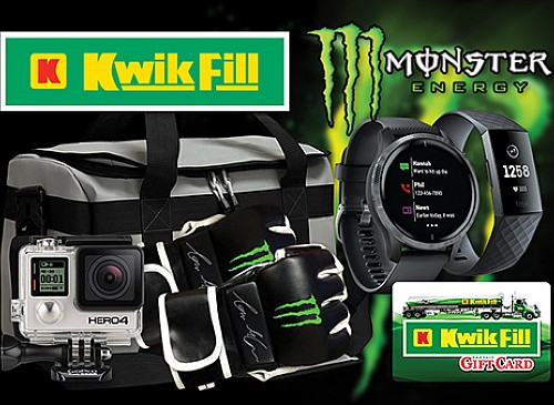 2020 Kwik Fill Monster Spring Into Fitness Giveaway