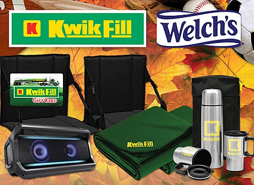 2019 Kwik Fill Welch's Sports Pack Giveaway