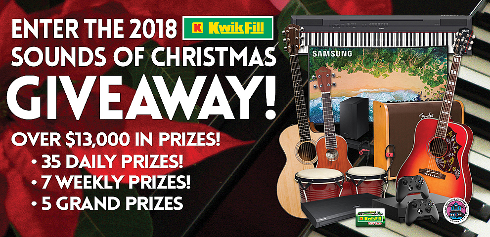 2018 Sounds of Christmas Giveaway
